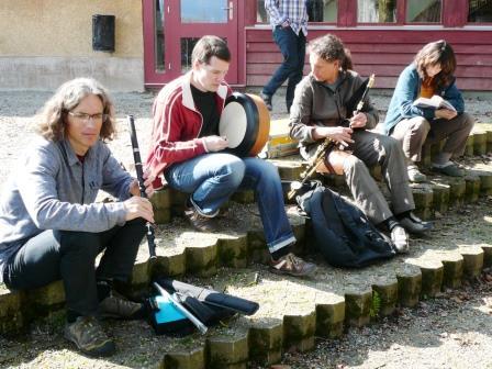 Musizieren im Freien